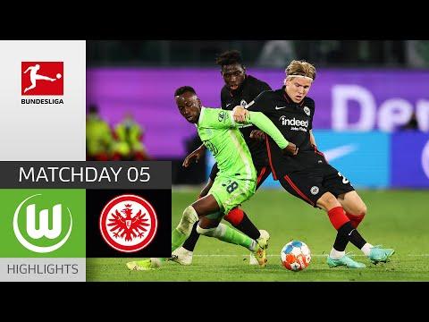 Wolfsburg Eintracht  Frankfurt Goals And Highlights