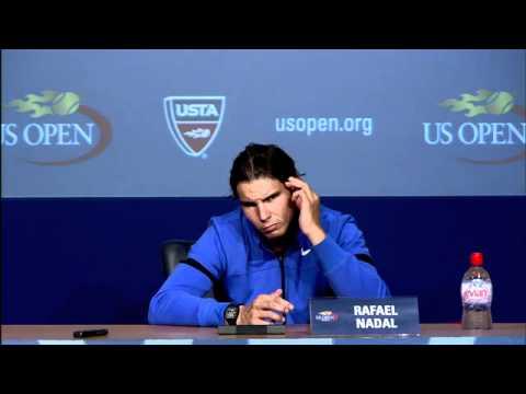 2011 US Open Press Conferences: Rafael Nadal (Quarterfinals)
