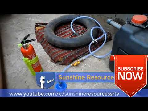 How to Produce Cooking  Gas At Home From Food Waste