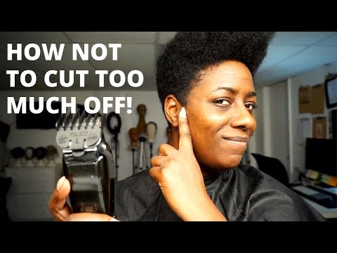 ATTENTION! Black Women! This Is How To Cut Your Own Natural Hair | BEAUTYCUTRIGHT