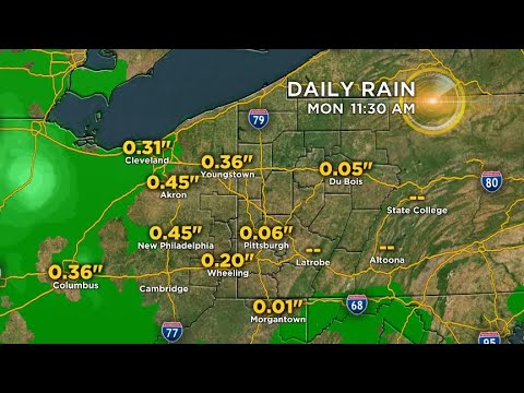 Reporter Update: Latest Afternoon Weather Update From Ron Smiley