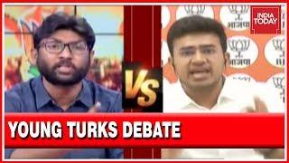 Jignesh Mevani Vs Tejasvi Surya : Exclusive Debate On The Battle Of Bhopal
