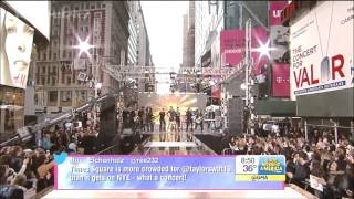 [LIVE HD] Taylor Swift - Shake It Off @ GMA Good Morning America 301014