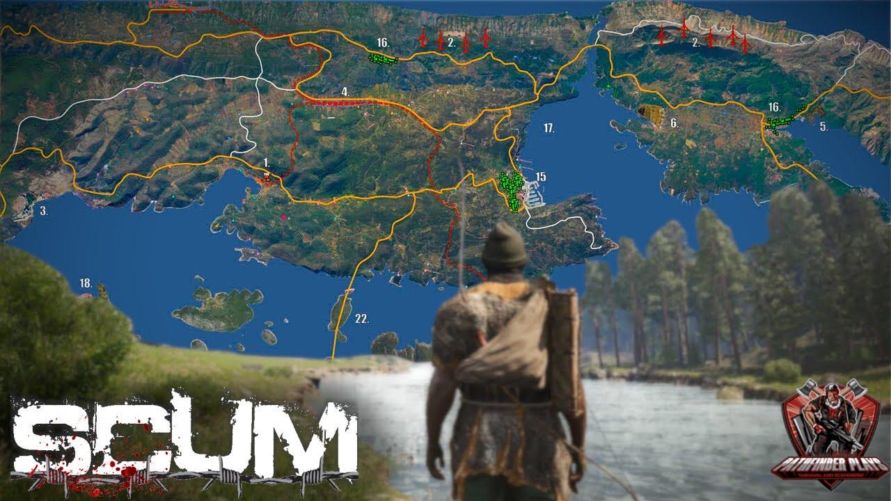 Scum Game Map Expansion POI's!