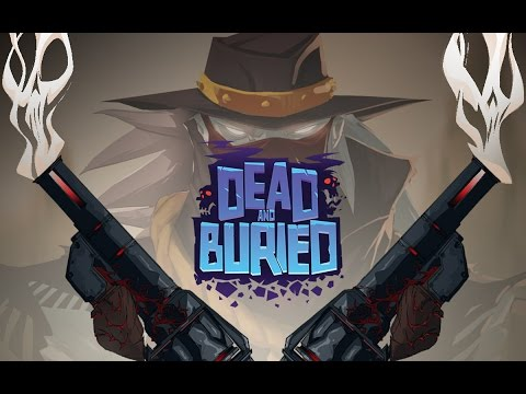 Dead and Buried Gameplay  Oculus Rift Multiplayer Shooter