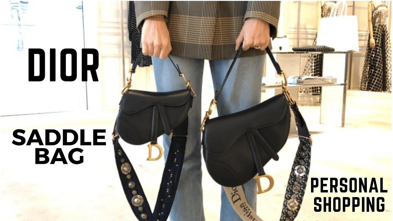 Dior Saddle Bag Size Comparison Обзор Новой Сумки Диор - YouTube b95895501ced4