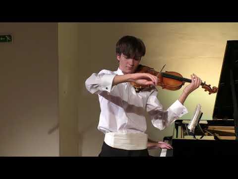 Tchaikovsky Violin Concerto (3rd mvt) by Julian WALDER (Auer Cadenza)