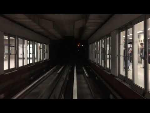 Métro de Rennes - SIEMENS VAL 208 NG HP24 entre Kennedy et La Poterie