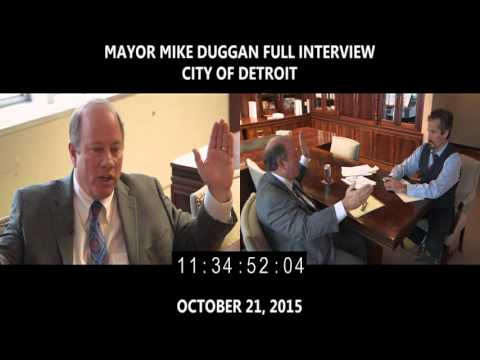 Detroit Mayor Mike Duggan:  I Did Not Collude (FULL INTERVIEW)