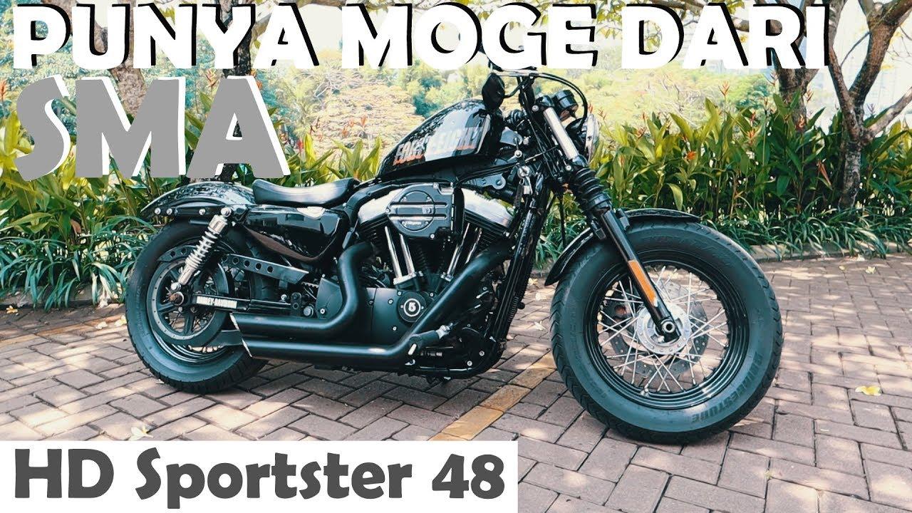 REVIEW & TEST RIDE MOTOR ANAK SMA HARLEY DAVIDSON SPORTSTER 48