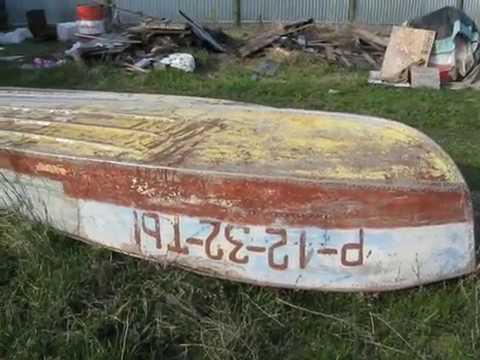 Ремонт лодки Казанка-М.
