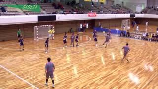 H26年 第23回JOCハンドボール大会京都VS岩手(ダイジェスト)(男子予選リーグ)