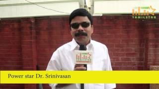 Power Star Dr  Srinivasan At Vanga Vanga Movie Shooting Spot