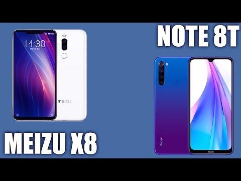 Meizu X8 Vs Xiaomi Redmi Note 8T 🤔
