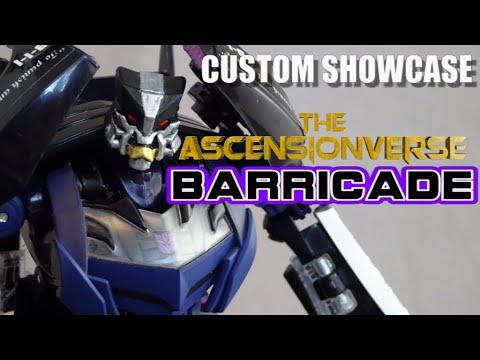 Download Custom Showcase   Ascensionverse Barricade