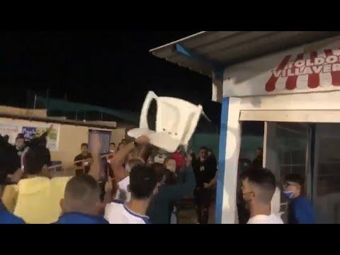 Multitudinaria pelea en un partido de fútbol en Villaverde con más de diez heridos