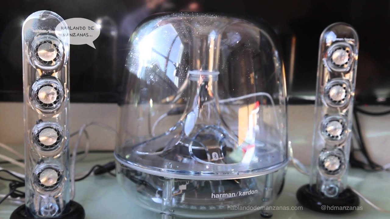 Comparativa altavoces Harman Kardon Soundsticks Wireless ...