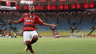 Flamengo 4 x 2 Palmeiras - Narração: Luiz Penido ( Rádio Globo RJ ) Brasileirão 2014