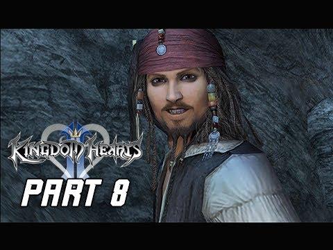 Kingdom Hearts 2.5 Final Mix Walkthrough Part 8 - Pirates of the Caribbean (Kingdom Hearts 2 PS4 )