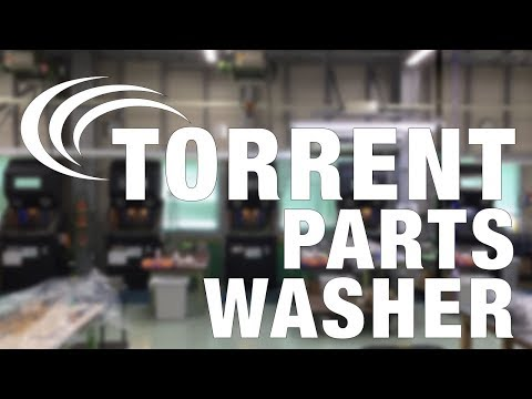 Torrent Aqueous Parts Washer