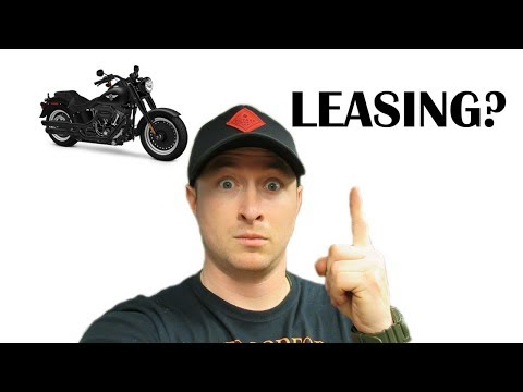 Lease a Motorcycle? Motorcycle Leasing Explained...