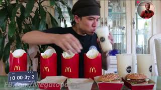 """The """"impossible"""" big mac challenge   Reaction"""