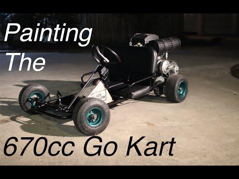 670cc Go Kart Restoration and Paint!