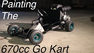 670cc Go Kart Restoration and Paint!
