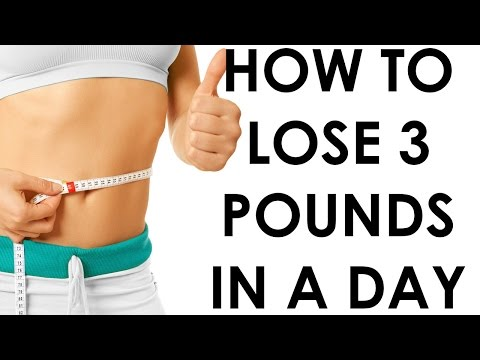 How to lose 3 pounds in a Day Christina Carlyle