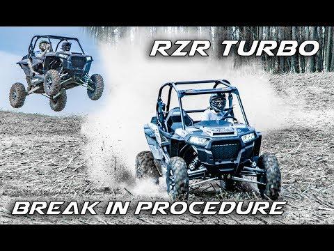 How to Properly Break in a Brand New RZR Turbo - 2017 Polaris RZR XP Turbo First Test Drive