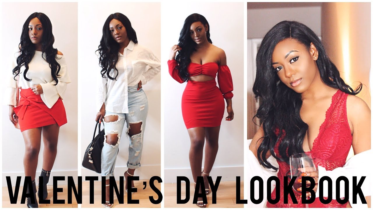 Valentines Day Date Outfit Ideas 2018 Lookbook Youtube