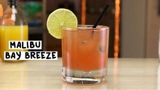 Malibu Bay Breeze - Tipsy Bartender