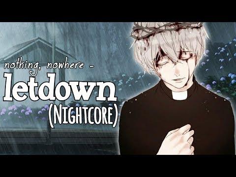 Nightcore - letdown (Lyrics)
