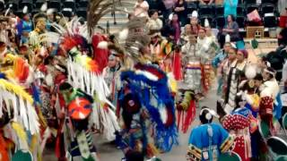 uvu powwow session 2 grand entry white bull april 1 2017