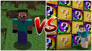 AO VIVO !! NOOB VS LUCKY BLOCK - DESAFIO COM BETO GAMER !! (MINECRAFT)