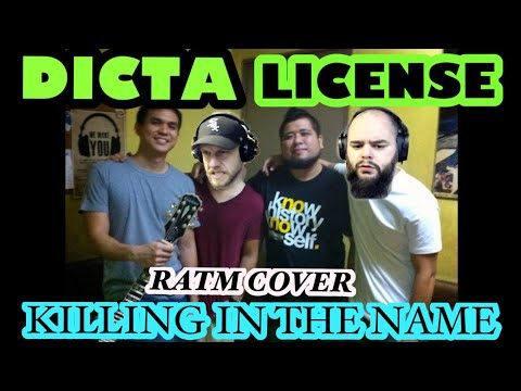 DICTA LICENSE - KILLING IN THE NAME 🤘🤔🎙 reaction