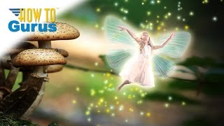 how to do a fairy fantasy photo manipulation in adobe photoshop elements 15 14 13 12 11 tutorial
