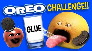 Annoying Orange - Oreo Cookie Challenge!
