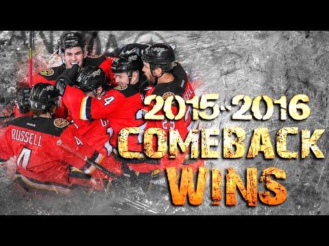 Calgary Flames Comeback Wins - 2015/2016 Season