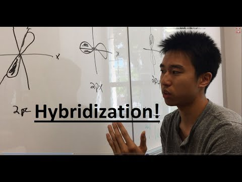 Sp3 Sp2 Sp Hybridization Made Easy! Part 1 - Organic Chemistry