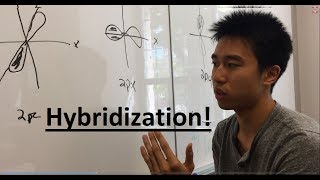 Sp3 Sp2 Sp Hybridization Made Easy! Part 1 - Organic Chemistry