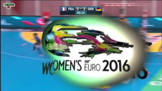 France VS Allemagne Handball Euro féminin 2016 Qualifications