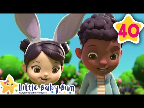Going On An Egg Hunt   How To Nursery Rhymes   Fun Learning with LittleBabyBum