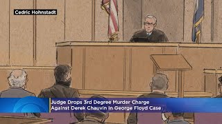 George Floyd Case: Judge Keeps Derek Chauvin's Most Serious Murder Charge, Drops 3rd-Degree Murder