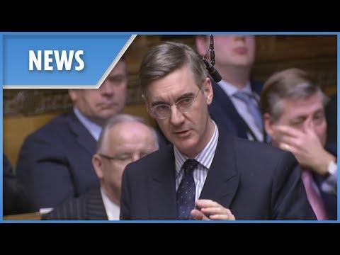Jacob Rees-Mogg probes no deal Brexit amendment