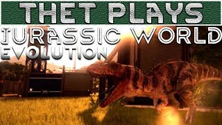 Thet Plays Jurassic World Evolution Part 12: Return to Isla Muerte