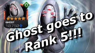 Ghost Becomes My 11th R5 5 Star!!! Marvel Contest of Champions