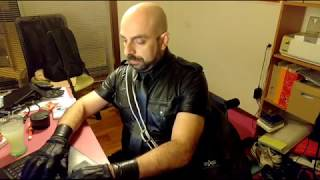 Live stream and chat about gay leather, Master, slave...