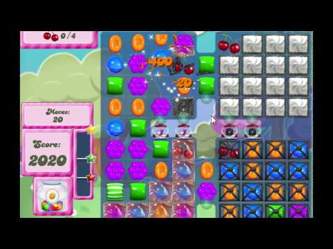 Candy Crush Saga Level 2815 NO BOOSTERS (new version)