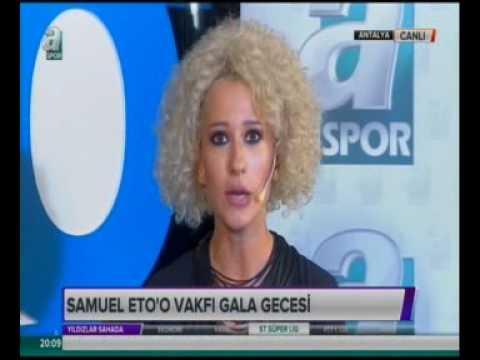 Etoo Charity Match Gala Dinner / A Spor / World Tourism Forum